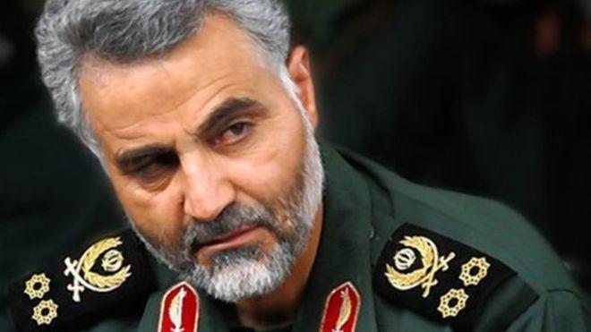 Qassem Soleimani Terluka Parah