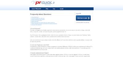 Guadagno Extra con PRClick! un Ottima Risorsa per Guadagnare Facilmente con Internet nel tempo libero!