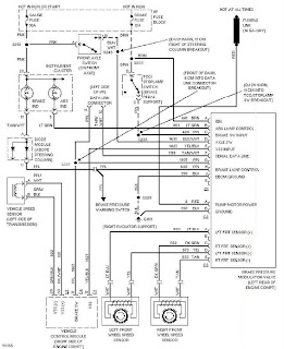 1997 Chevrolet Blazer Anti Lock Brake Circuits Wiring Diagram