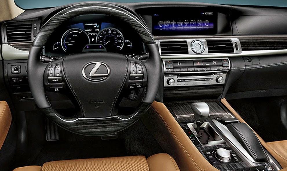 2015 Lexus LS Interior