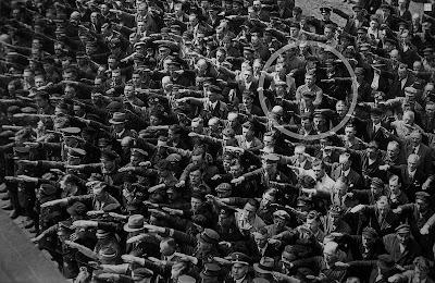 Porqué se negó ha hacer el saludo nazi