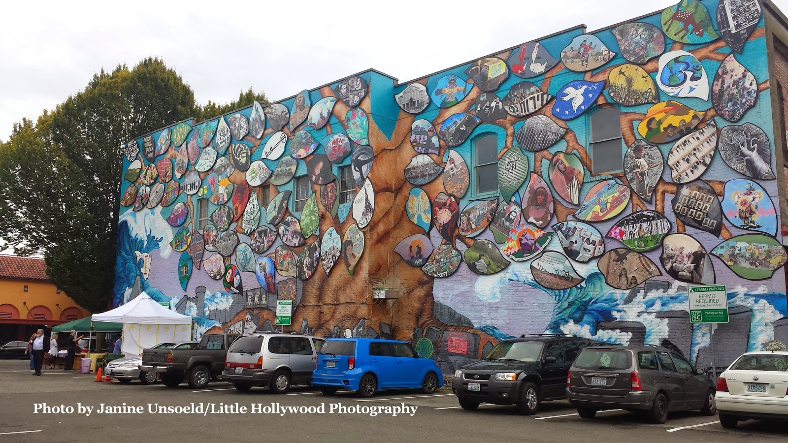 Little hollywood arts walk and arab festival offer culture for Downtown hollywood mural project