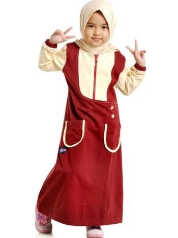 Baju Muslim Anak Gamis islami yang lucu