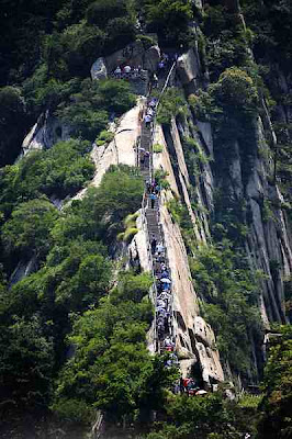 Hua Shan Cliffside Path, Cina