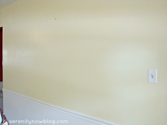 Blank Kitchen Wall, Serenity Now blog