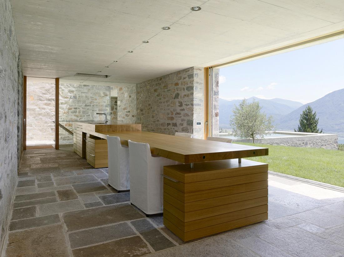Swiss Stone House Modern Design By Moderndesignorg