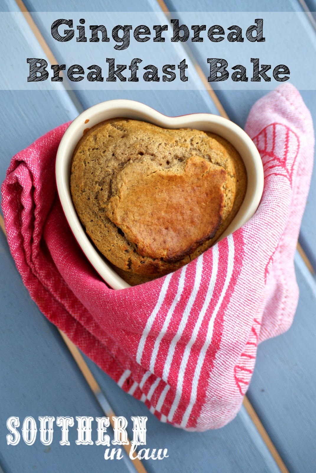 Healthy Gingerbread Breakfast Bake Recipe - Gluten Free, Low Fat, Sugar Free