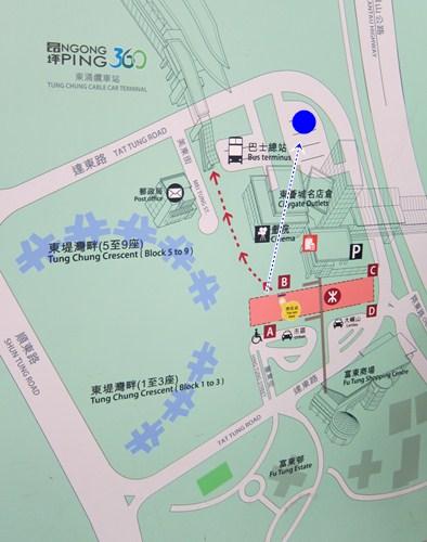 how to go to lantau island by bus