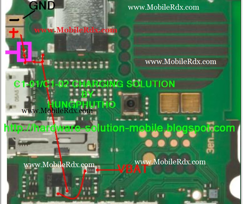 Nokia C1-01/C1-02 Not Charging Problem Solution