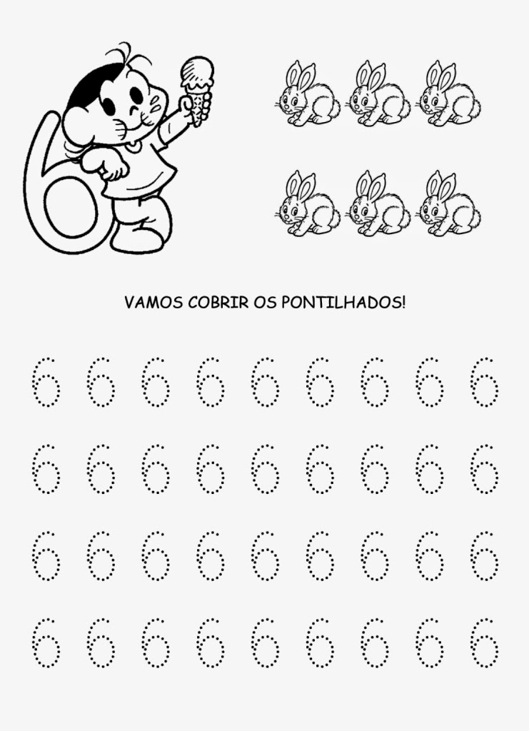 Muito Alfabetização e Letramento: NÚMEROS PONTILHADO UE56