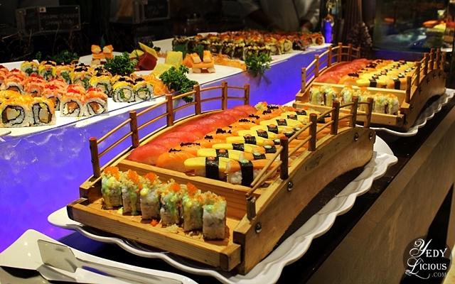 Sushi and Sashimi at NIU by Vikings Buffet