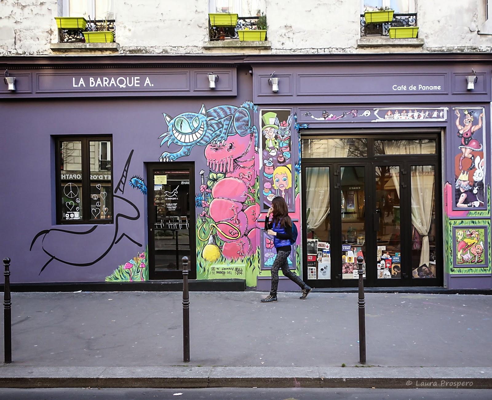 street art 10eme  Paris
