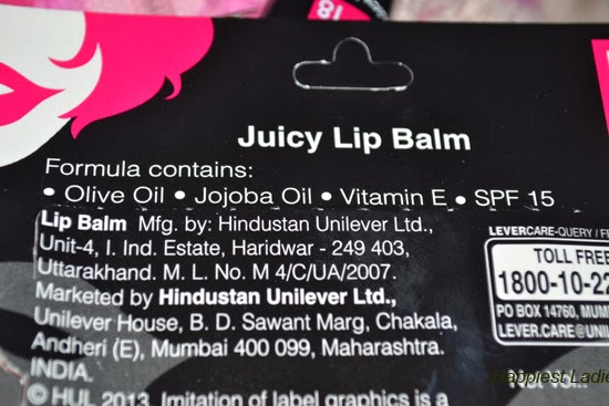 Elle 18 Juicy Lip Balm Juicy Pink