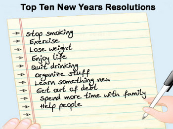 10 new year resolutions for high Top 10 new year's resolutions for looking sharper than ever it's a time to reflect on the changes we want (or need) to make and resolve to follow through.