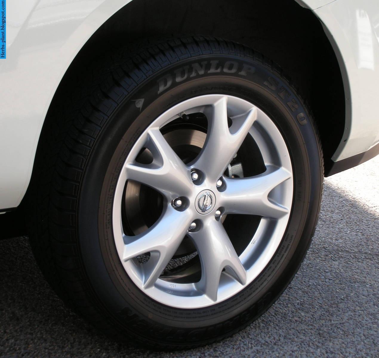 Nissan Rogue car 2013 tyres/wheels - صور اطارات سيارة نيسان روج 2013