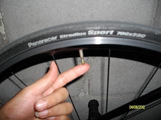ดูแลยางจักรยาน