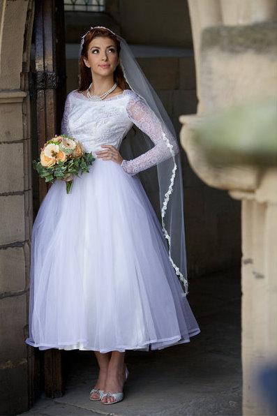 Georgian style wedding dresses