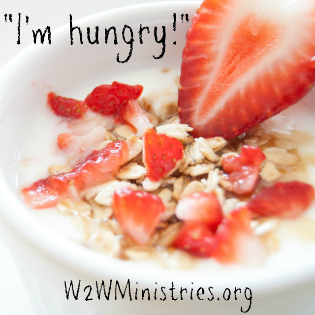 I'm hungry! Heard by kids all summer long. Get some tips for dealing with the hunger pains. #family #summer #food