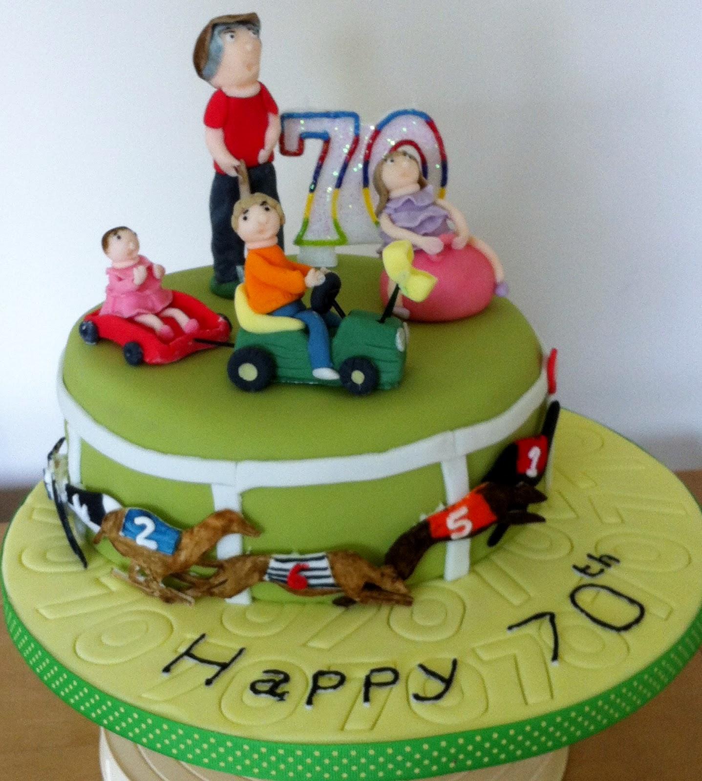 Strictly Baking Happy 70th Birthday Dad