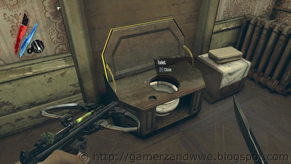 Toilet in Dishonored