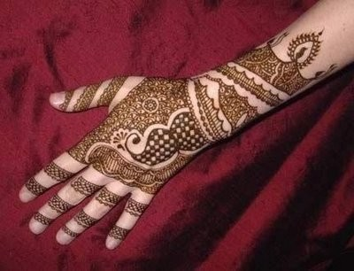 Dulhan Mehndi Designs For Full Hands 2014 : Latest hand mehndi design the new life for next generation