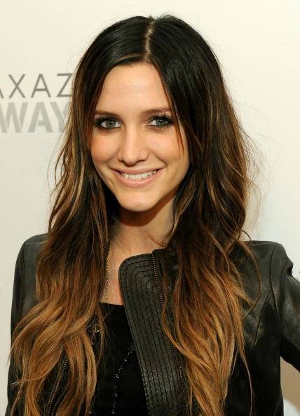 Celebrity Ombre Hairstyle - Ashlee Simpson