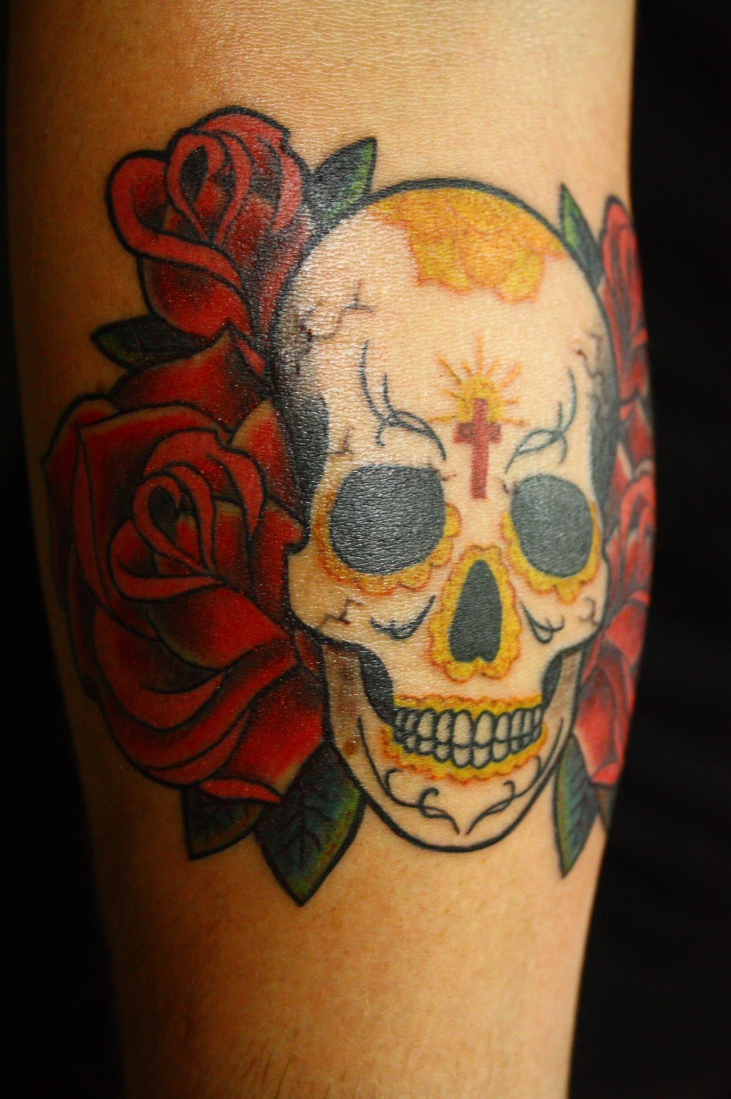 New Tattoo: Sugar Skull Lady Tattoo