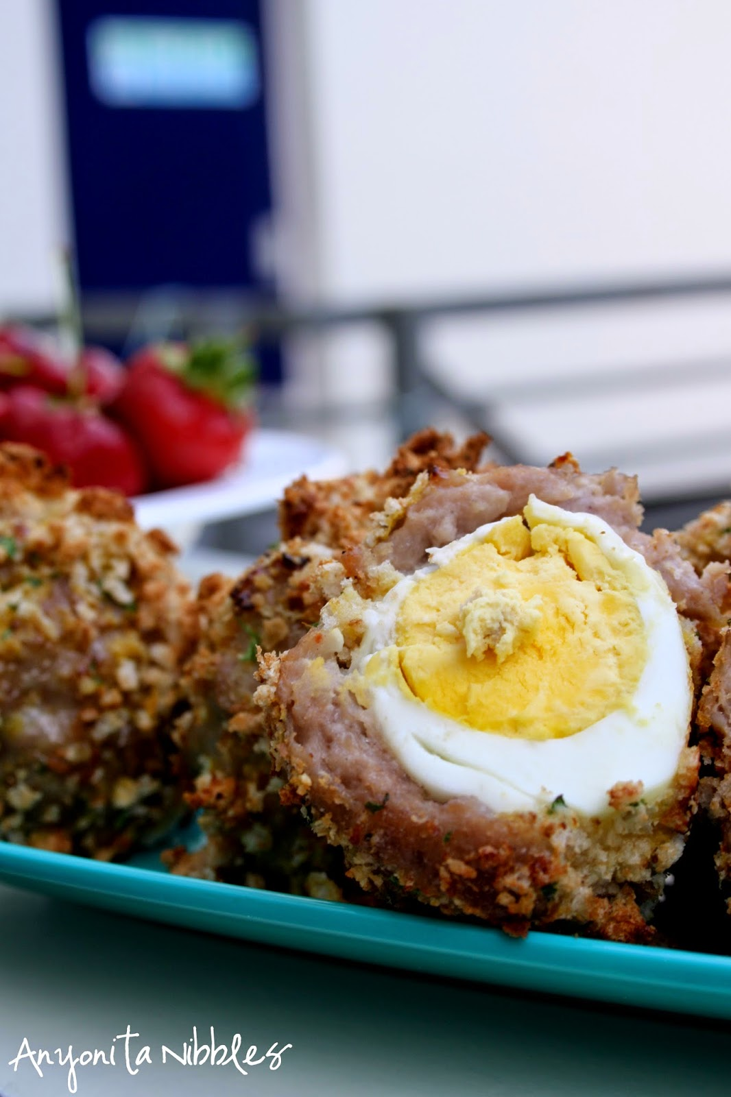 No British picnic is complete without a Scotch egg. This version is gluten free!
