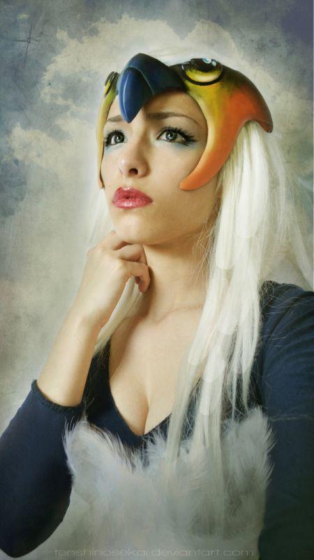 Angela Bermúdez deviantart incríveis cosplays filmes games linda nerd Sorceress (He-man)