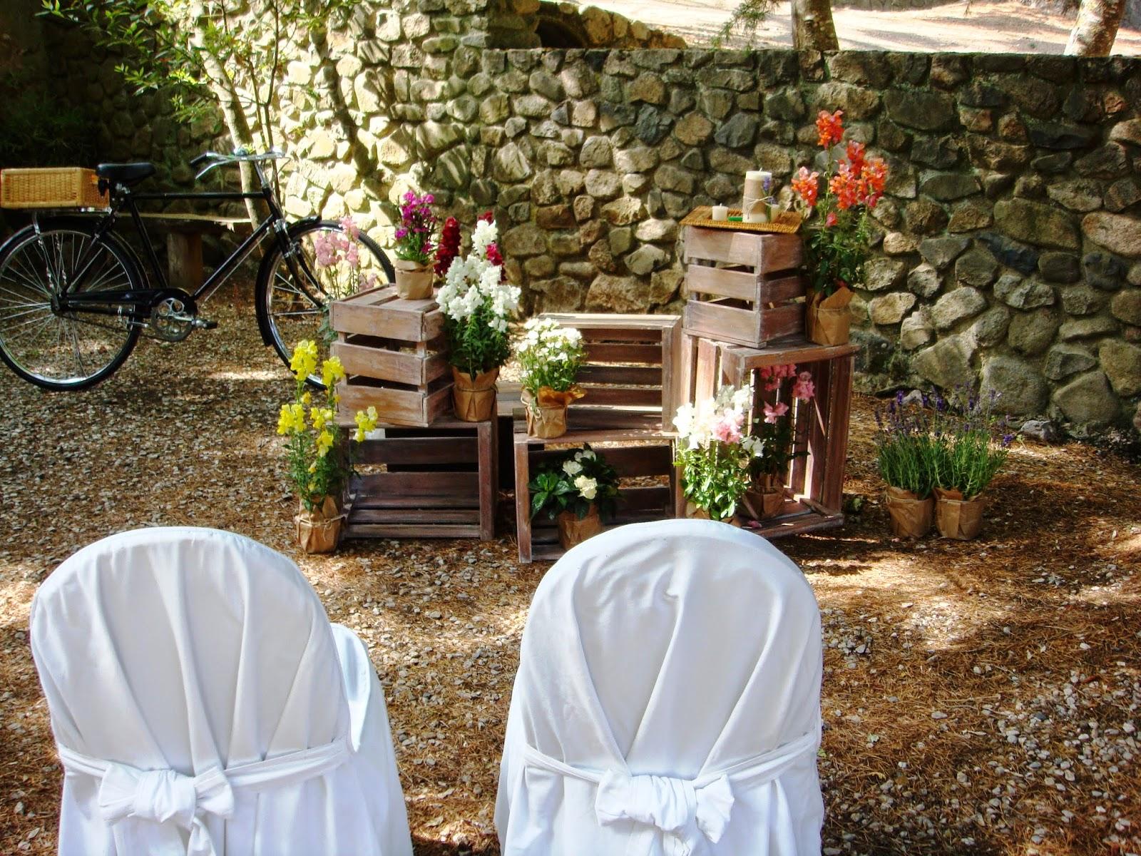 Altar boda rural Sercotel Villa Engracia