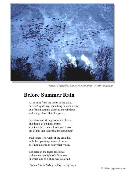 exclusive rain poems im so lonely