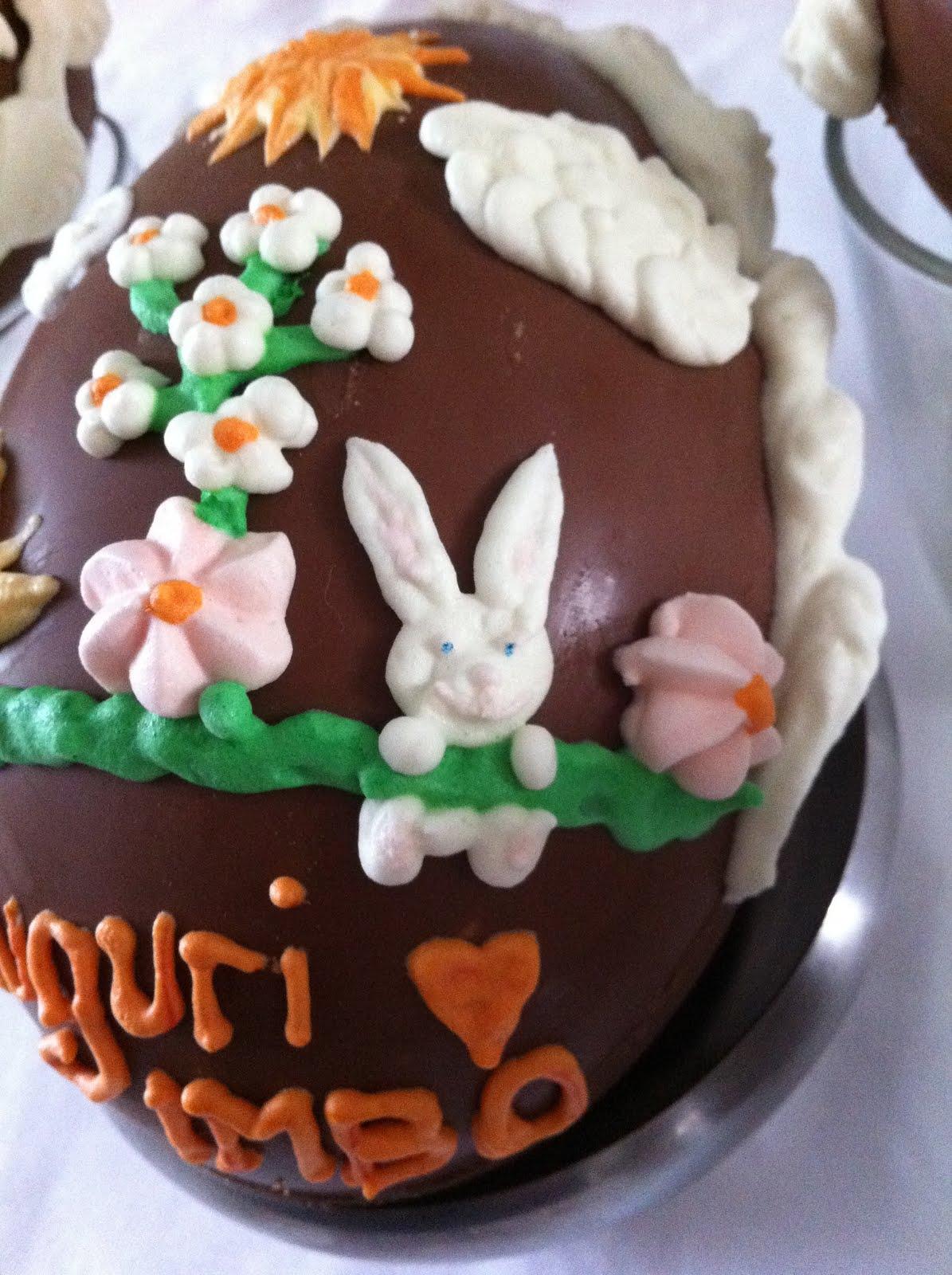Omini pasticcini uova di pasqua decorate con ghiaccia reale - Uova di pasqua decorati a mano ...