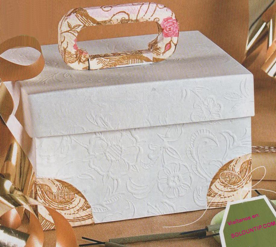 Como hacer una caja en cartulina imagui - Como hacer una caja de carton ...