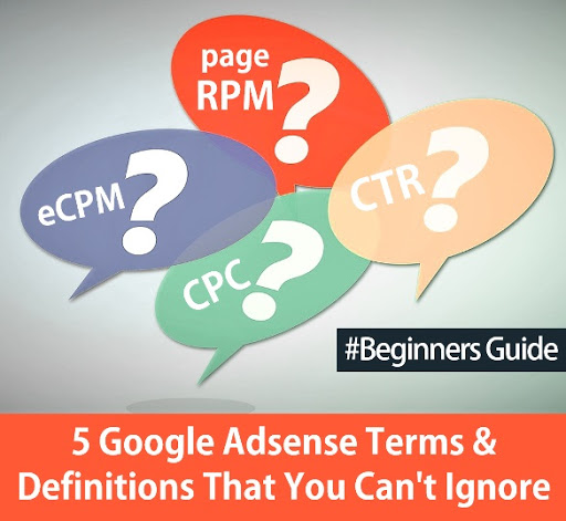 Adsense Terms and Definitions
