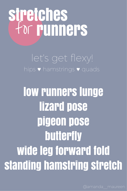 stretches for runners, Workout Wednesday, Stretch, Flexibility, Runner Life