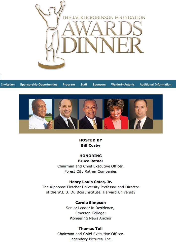 Bruce Ratner Quot Extraordinary Trailblazer Quot Honored At Jackie Robinson Foundation Dinner