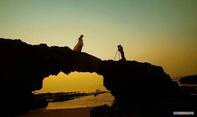 Chùm ảnh đẹp về Cổng Tò Vò Lý Sơn