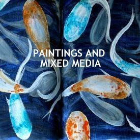 Paintings and mixed media