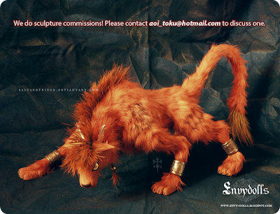 redxiii statue