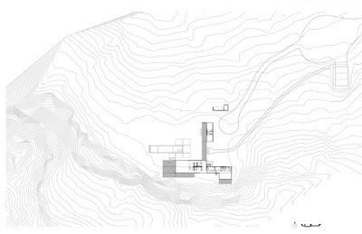 Modern modular home Utah site plan
