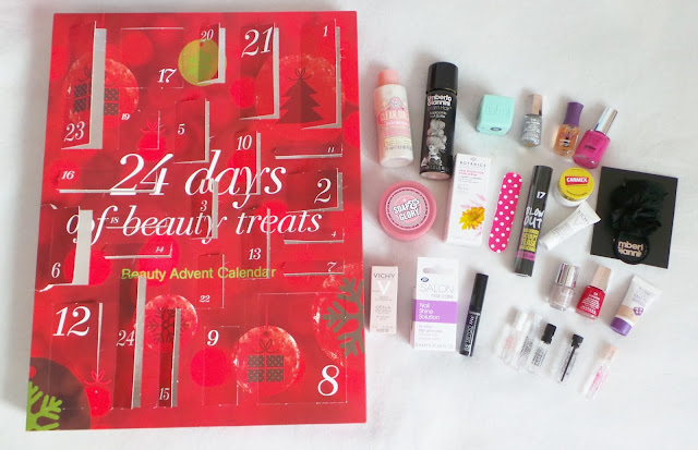 boots beauty advent calendar unboxed, contents and review of boots beauty advent calendar 2013, boots beauty advent calendar 2013, 24 days of beauty treats boots