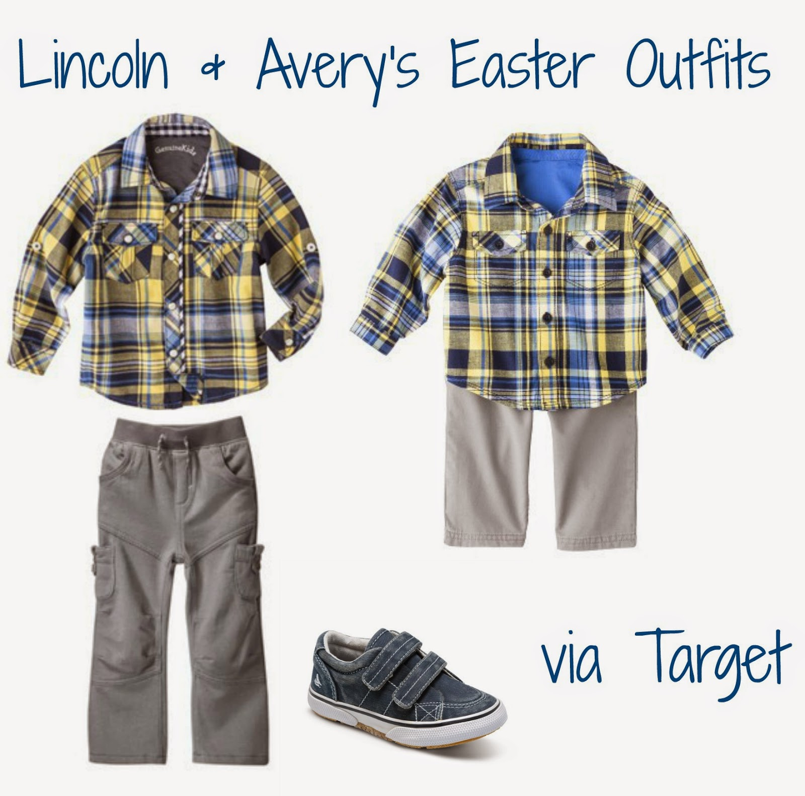 Target Boys Easter Outfit