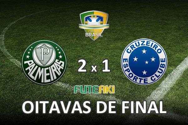 Veja o resumo da partida com os gols e os melhores momentos de Palmeiras 2x1 Cruzeiro pelas oitavas de final da Copa do Brasil 2015.