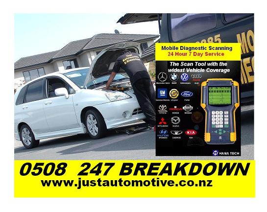 Mobile Mechanic Auckland Breakdown And Towing