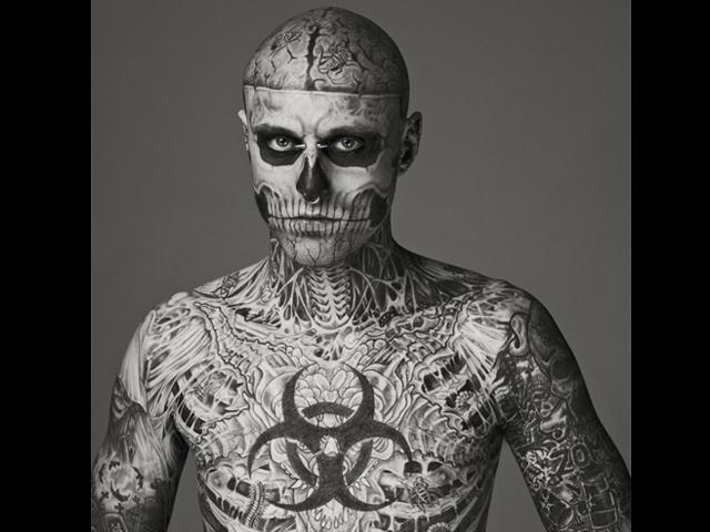Transformacin Humana El hombre esqueleto