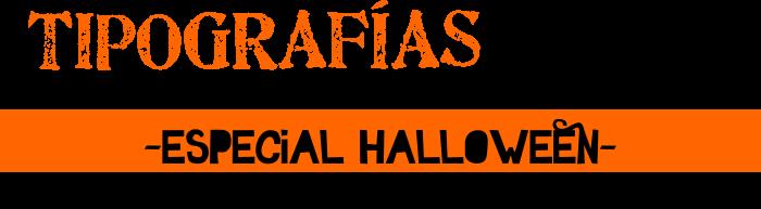 Tipografías libre uso -especial Halloween 2014-