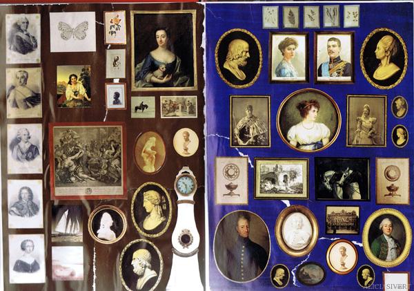 aliciasivert alicia sivertsson collage sköna hem drömhem och trädgård dagens nyheter scrapbook scrap book frames pictures tavlor ramar tavla vägg wall