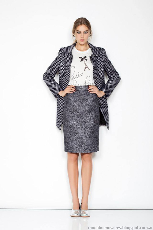 Janet Wise invierno 2014 sacos sastres.