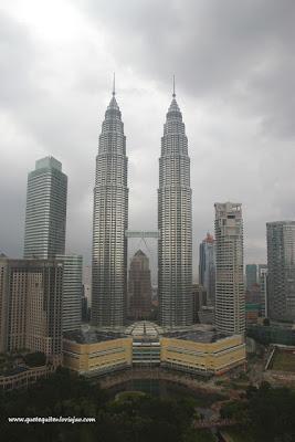 Torres Petronas Kuala Lumpur - Viaje a Malasia