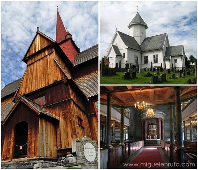 Iglesias-madera-Noruega